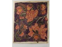 Originalen till Nordiska museets nya produktserie Berchska samlingen: kattuntryck från 1700-talet ur Anders Berchs samling, inventarienummer NM.0017648.