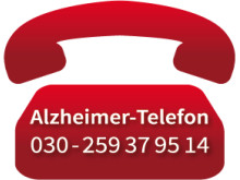 Das Logo des Alzheimer-Telefons der Deutschen Alzheimer Gesellschaft
