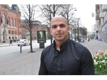 Josef Kiswani, verksamhetsansvarig för Uppsök Helsingborg