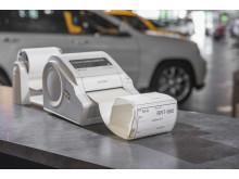 TD-4100N-tarratulostimella rengastarrojen merkitseminen on helppoa ja nopeaa