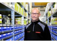 Johan Lindskog lagerchef Skurup