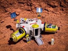 Die Mars-Station dient der Crew als Basis