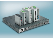Rugged network infrastructure in accordance with IEC 61850-3 and IEEE 1613