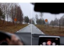 Skillnaden mellan bra och dålig syn i trafiken – Synbesiktningen 2015