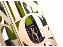 Närbild Bollinger Rosé Limited Edition 2006