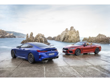 BMW M8 Competition Coupé og BMW M8 Competition Cabriolet