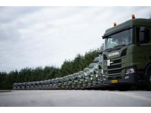 22 nye Scania R 450 sættevognstrækkere