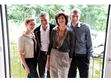 Die Gastgeber Familie Perathoner im DolceVita Hotel Feldhof in Naturns