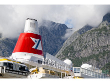 Black Watch funnel, Eidfjord, Norway