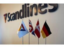 Scandlines logo med flag