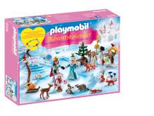 """24 Türchen voller Spielspaß: PLAYMOBIL-Adventskalender """"Eislaufprinzessin im Schlosspark"""""""