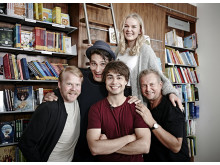 Alexander Rybak med skuespillerteam