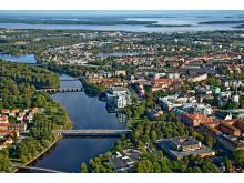 Flygfoto Karlstad CCC