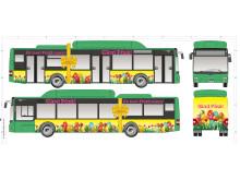 Dekor påskbuss 2016