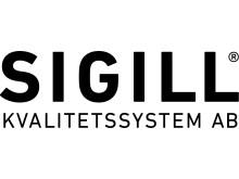Företagslogotyp Sigill Kvalitetssystem AB