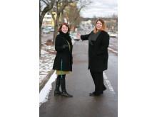 Maria Röhr och Anna-Maria Jäger