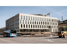 Förvaltningen Kretslopp och vatten flyttar snart in i en helt ny anläggning vid Alelyckans vattenverk i Göteborg