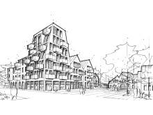 Skiss, Hydrotomten av Lilljewall arkitekter