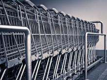 Znikają wózki sklepowe ze sklepów