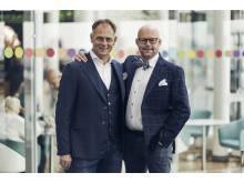 Joachim Hero och Niklas Blonér