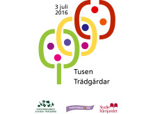 Något att se fram emot! - Tusen Trädgårdar 2016 blir söndagen den 3 juli