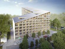 Arkitektoniska värden och drygt 200 attraktiva lägenheter tillförs ett växande Kviberg