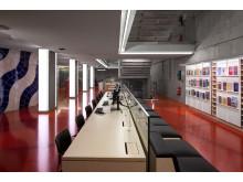 KB Annexet: Ljus integrerad i arkitekturen