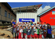 Panasonic's Life Innovation Container Donated at Bandung, Indonesia
