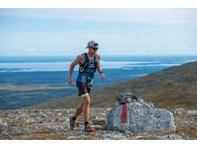 André Vollan Johansson, segrare herrklassen Buff Fjällmaraton Bydalsfjällen