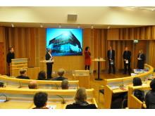 Presentationen som Nominerad till Stora Samhällsbyggarpriset 2012