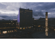 Kulturnatt Stockholm 2016 - Sergels torg & Hötorgsskraporna