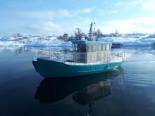Järnladyn - Isgående båt