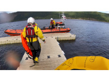 Image - Ocean Signal - Loch Ness RNLI head out to rescue the stranded paddleboarder in September