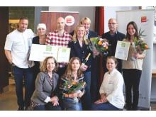 Finalister och expertjury Nyskaparstipendiet 2015