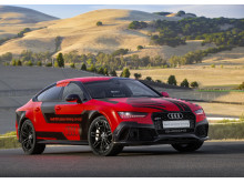 Audi RS 7 piloted driving concept (2015 Robby) right side front