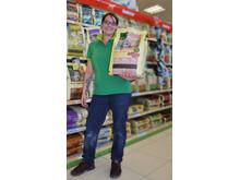 Filialleitung Simona Wagner freut sich auf viele neue Kunden aus Enns und der Region.