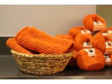 Oransje skjerf på Comfort Hotel Xpress Youngstorget