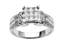 Eksklusiv diamantring fra DIMA