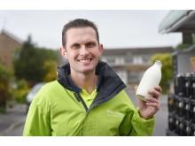 Camberley milkman Darren Barnes