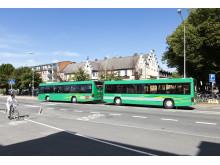 Skånetrafiken bjuder in till premiärtur med Sveriges första bussläp.