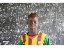 Konfliktramte børn i Sydsudan får adgang til undervisning i trygge rammer