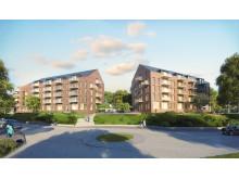 Veidekke Bostad förvärvar mark i Kviberg, Göteborg