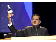 Dr Bindeshwar Pathak at opening of World Water Week