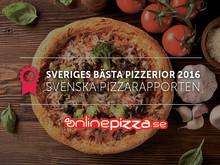 Sveriges bästa pizzerior 2016