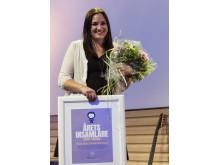 Årets insamlare - person: Therese Leijon på Svenska Röda Korset