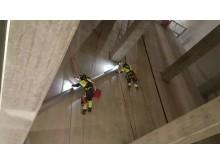 Montage ventilation vattenkraftverk