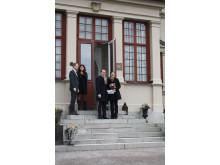 Kronprinsessparet besöker Görvälns slott i Järfälla