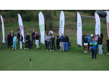 FlexLink participated as one of 34 teams in Barngolfen 2014. / FlexLink deltog som ett av 34 lag i årets Barngolf