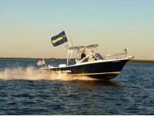 Image - VETUS Maxwell - VETUS Maxwell 24ft Topaz demo-boat is available at Miami Boat Show