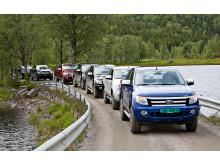Nye Ford Ranger lanseres i disse dager på det norske markedet.